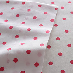 Polka Dot Rose Sheet Set