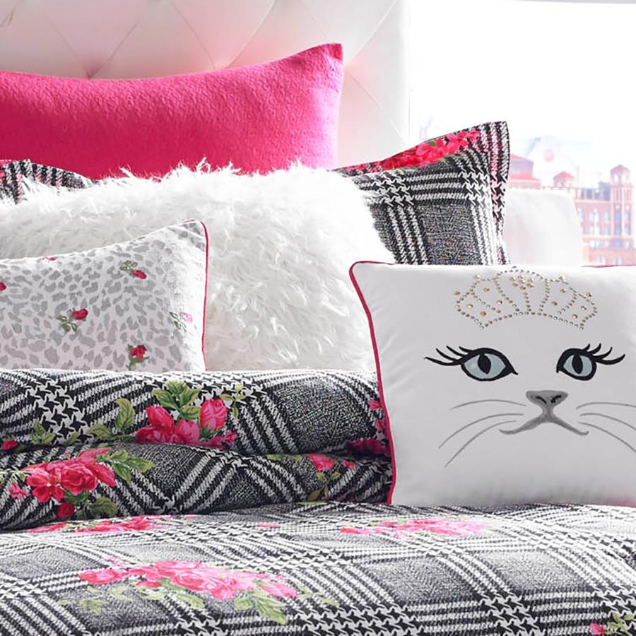 Betsey Johnson Polished Punk Comforter Set From