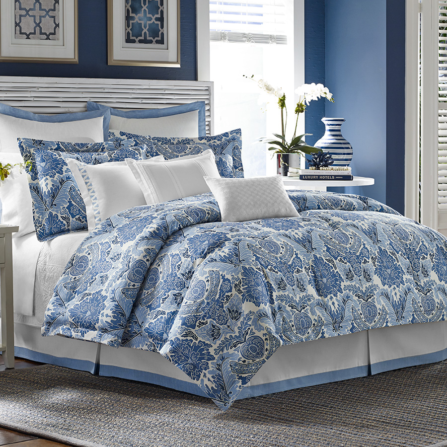 Tommy bahama porcelain paradise bedding collection from Tommy bahama bedding