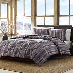 Port Orchid Plaid Comforter Set