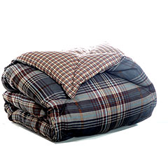 Port Orchid Plaid Throw Blanket