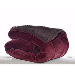 Premium Fleece Beet Throw Blanket