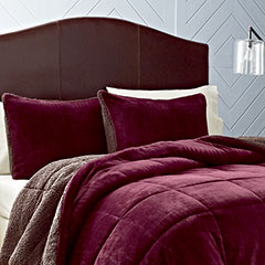 Premium Fleece Beet Comforter Set