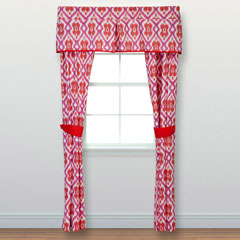 Preppy Ikat Window Treatment