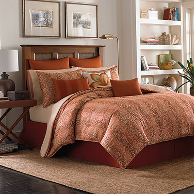 Tommy Bahama Prince of Paisley Comforter & Duvet Sets