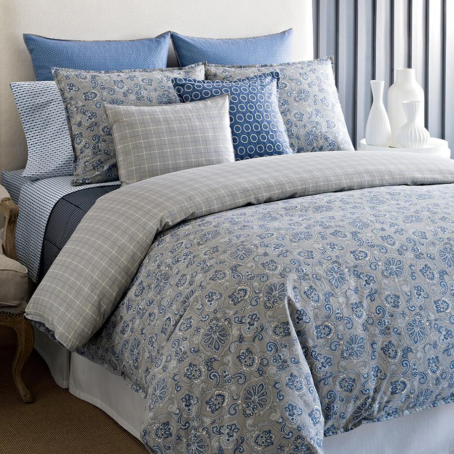 Tommy Hilfiger Princeton Paisley Comforter And Duvet Sets