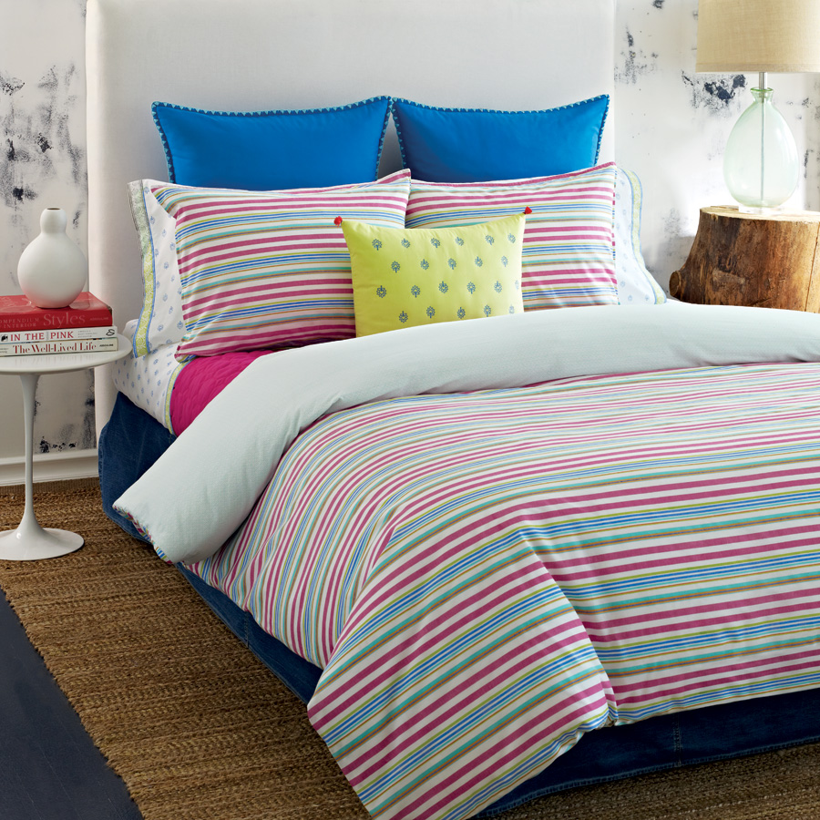 Tommy Hilfiger Priya Stripe Bedding Collection From