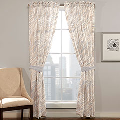 City Loft Quarry Window Drapes