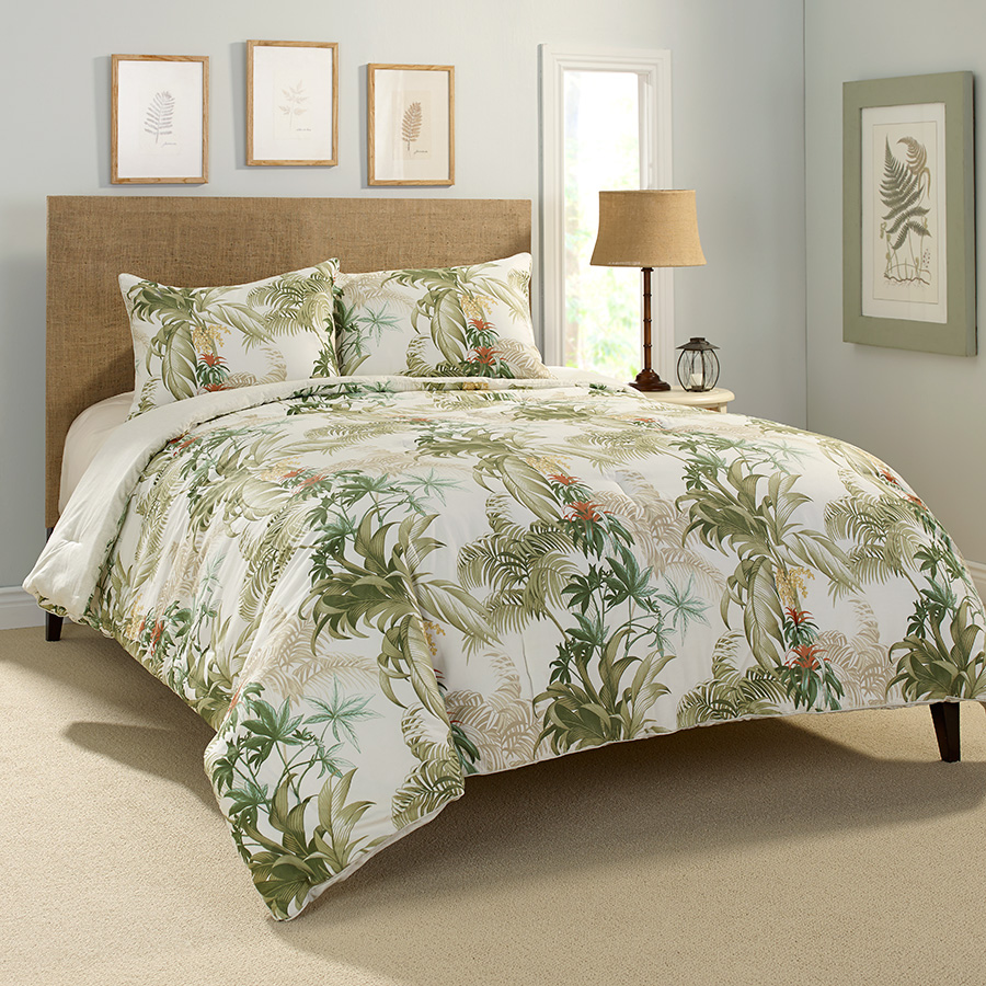 Tommy bahama rainforest tropical comforter set from Tommy bahama bedding