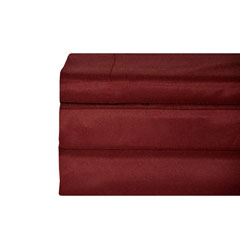 Red Solid Sheet Set