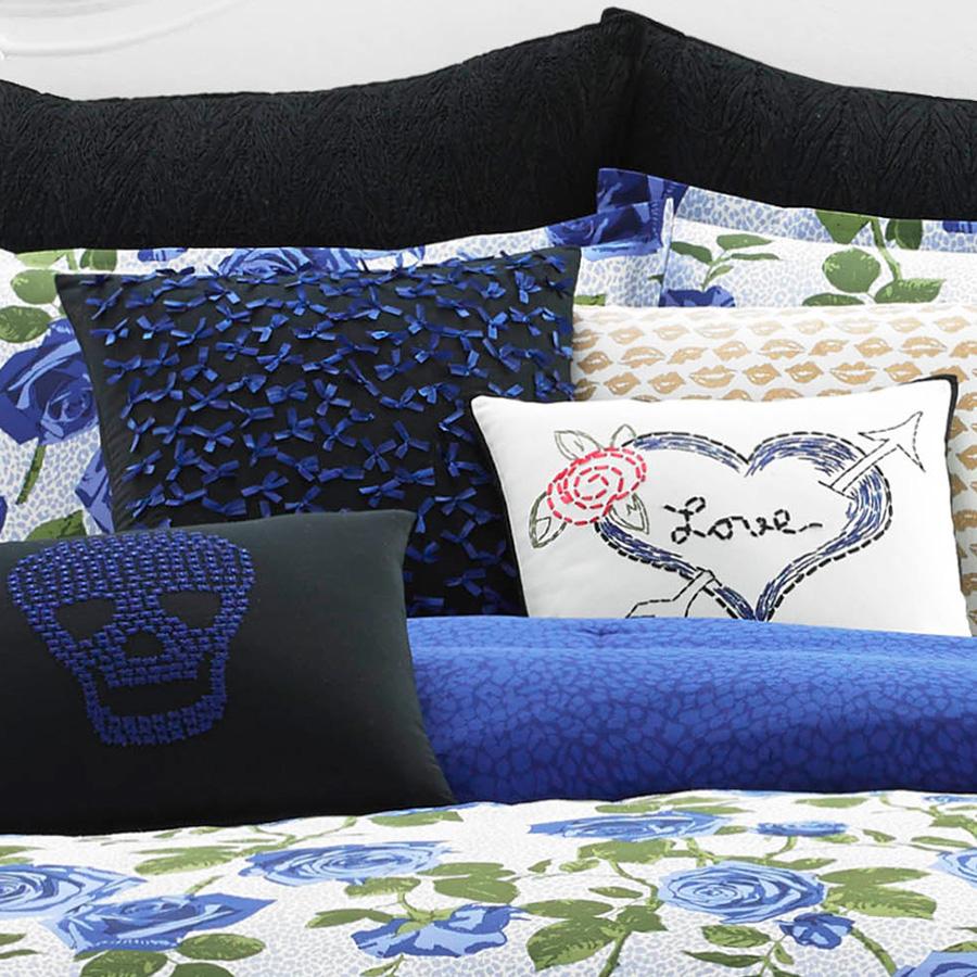Betsey Johnson Regal Roses Comforter Set From