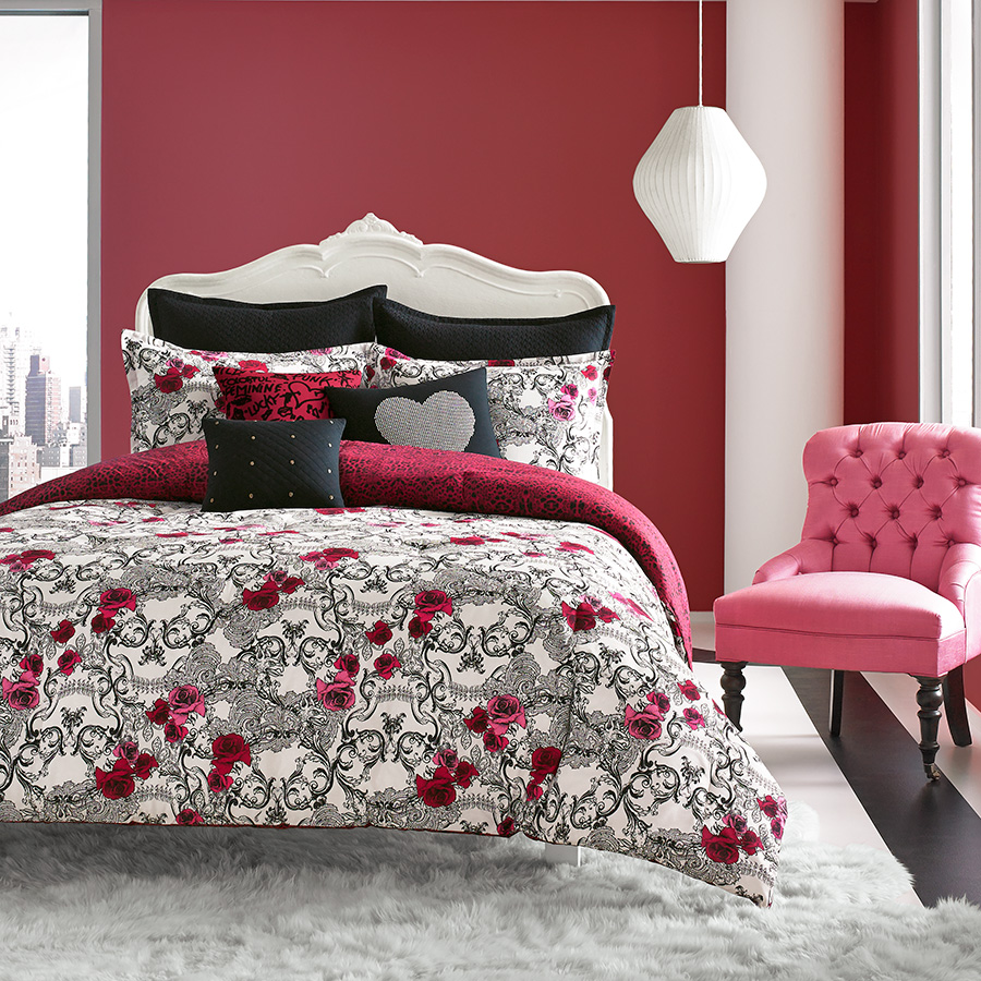 Betsey Johnson Rock Out Comforter Set From