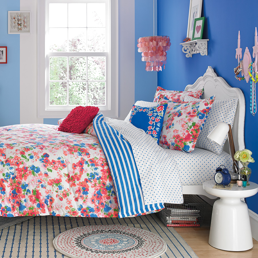 Teen vogue rosie posie comforter set from - Bedroom sheets and comforter sets ...