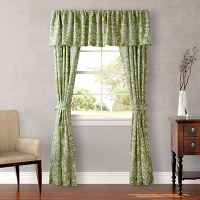 Laura Ashley Rowland Green Window Treatment From