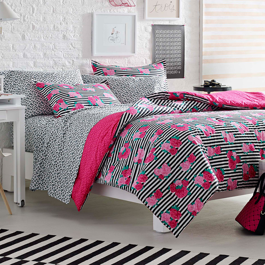 Betsey Johnson Royal Roses Comforter Set From Beddingstyle Com