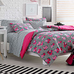 Betsey Johnson Royal Roses Comforter Set