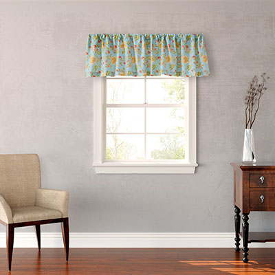 Laura Ashley Ruffle Garden Designer Valance