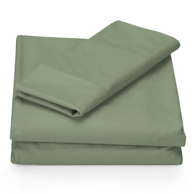 Perry Ellis Sage Solid Sheet Set