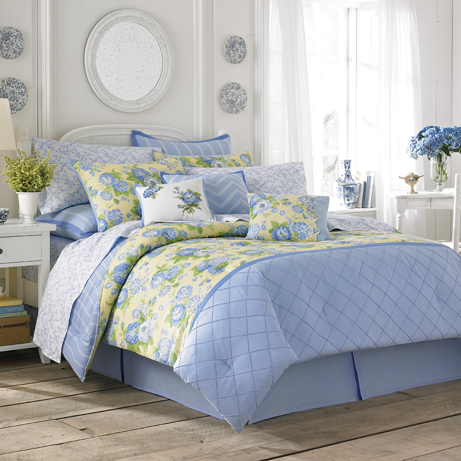 Queen Comforter Set Laura Ashley Salisbury