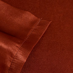 Patti Labelle Satin Rust Red Sheet Set
