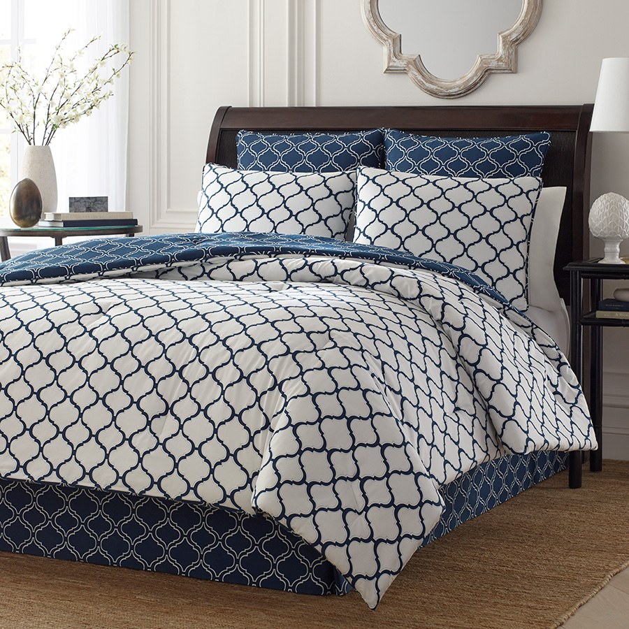 Stone Cottage Savannah Navy Comforter And Duvet Set From