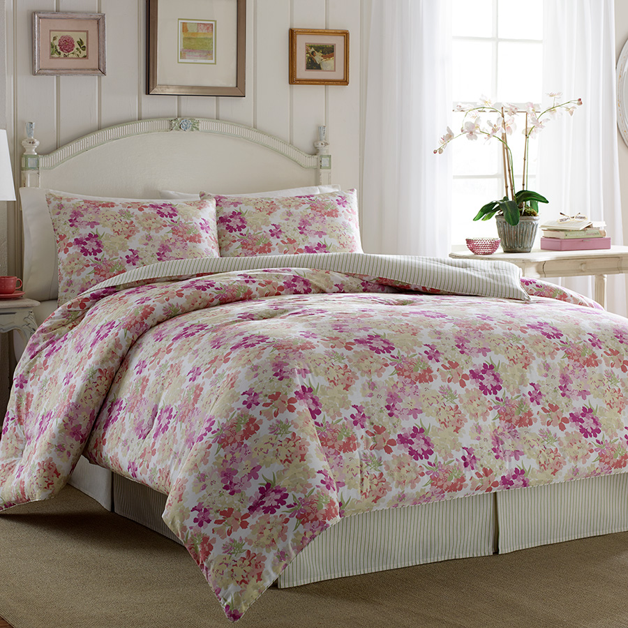 Laura Ashley Secret Garden Comforter Set From