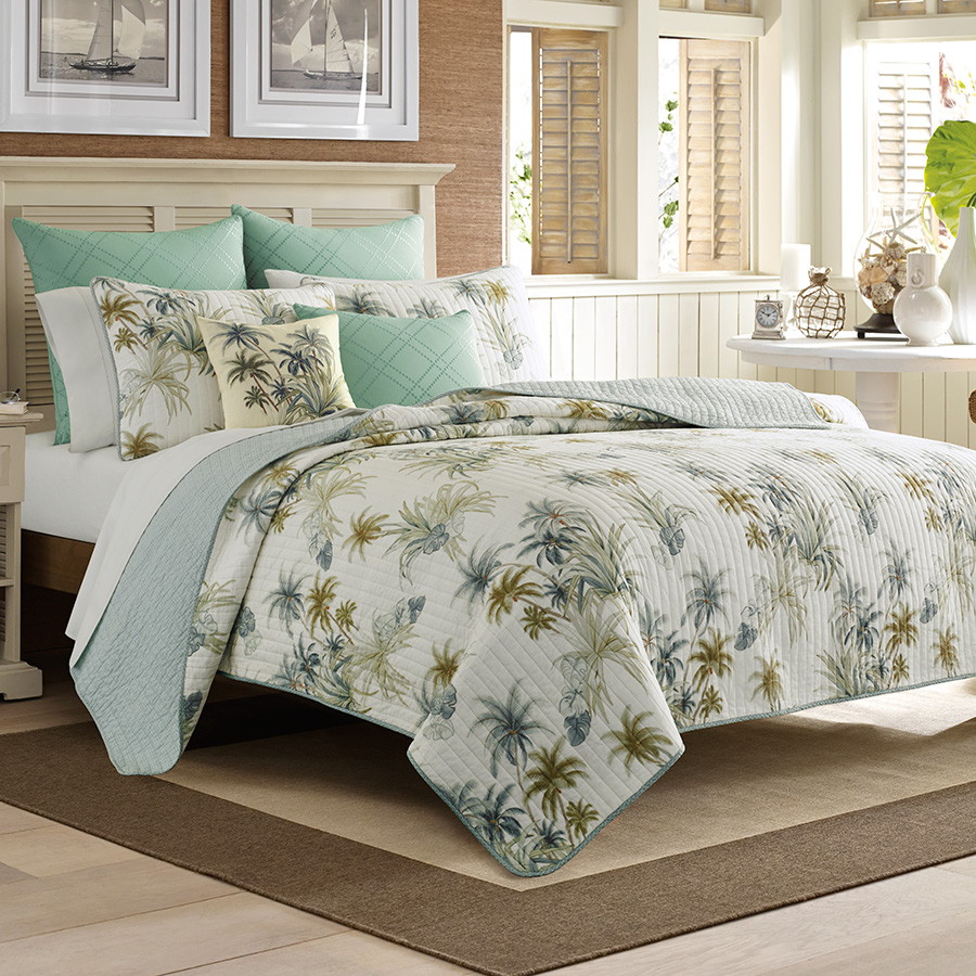 Tommy bahama serenity palms quilt from Tommy bahama bedding