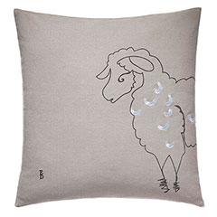 ED Ellen DeGeneres Square Pillow Printed Sheep