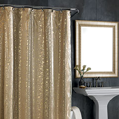 Nicole Miller Sheer Bliss Shower Curtain