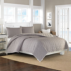 Shelford Mocha Coverlet