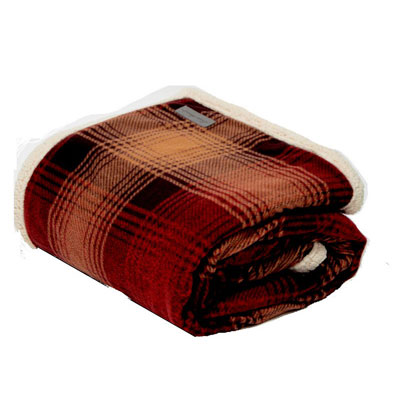 Eddie Bauer Sherpa Raisin Throw