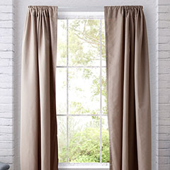 Heritage Landing Shimmer Champagne Window Treatment
