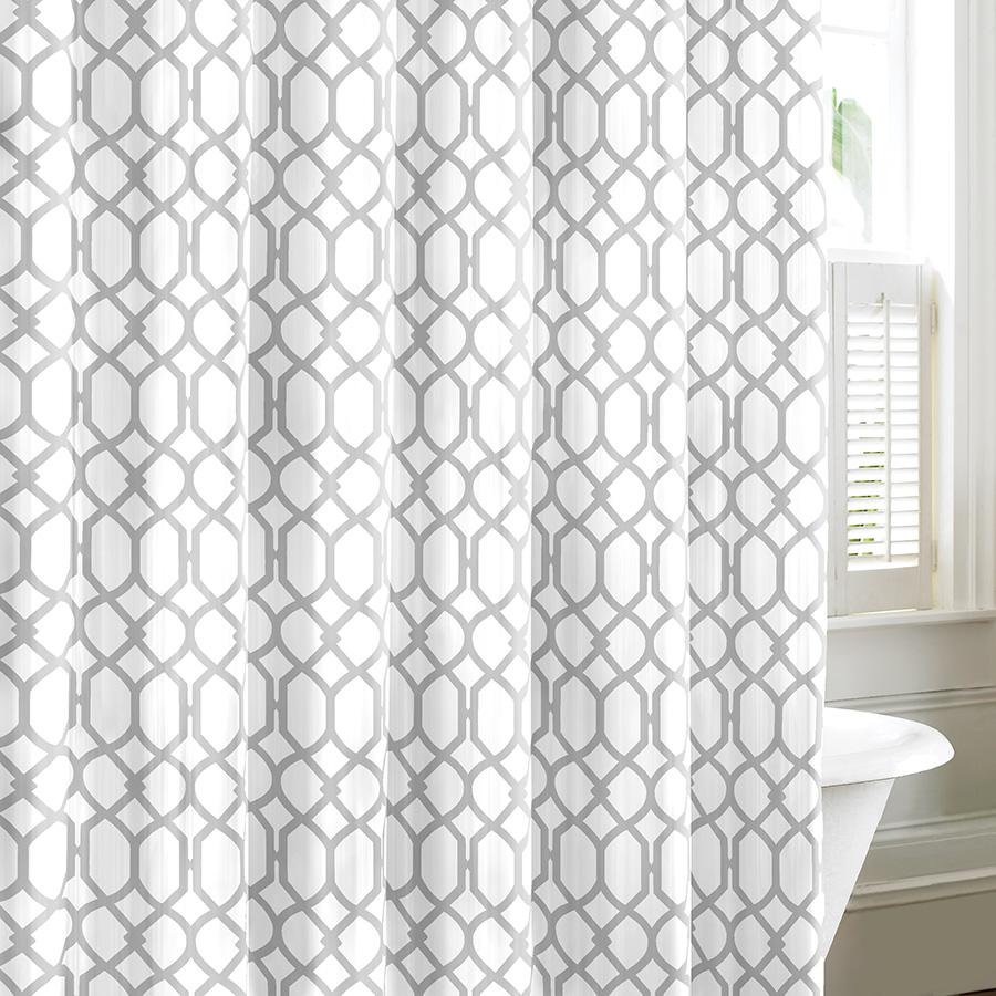 Shower Curtain Tommy Bahama Shoretown Gray