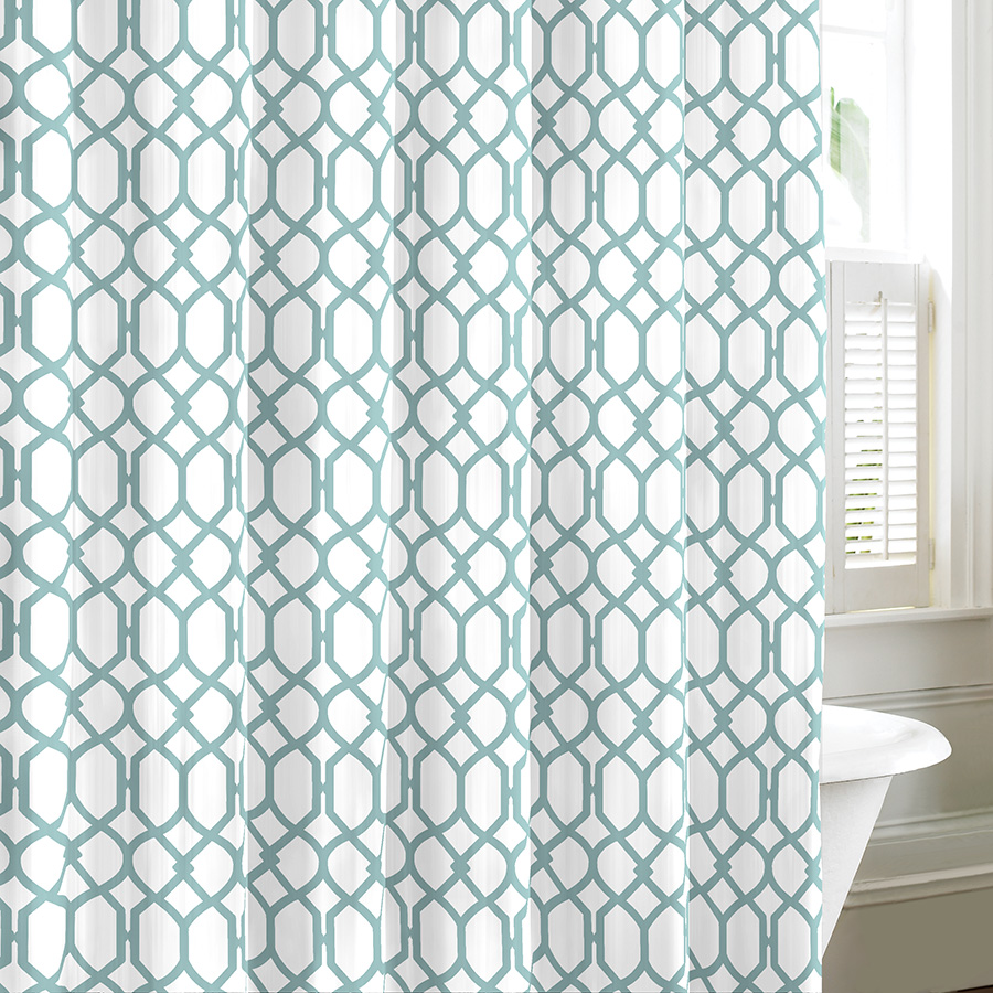 Tommy Bahama Shoretown Lagoon Shower Curtain From