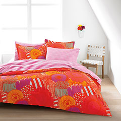 Siirtolapuutarha Orange Duvet Set