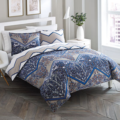 City Scene Sitella Reversible Duvet Set