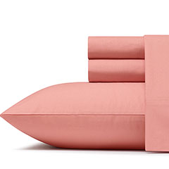 Poppy & Fritz Solid Lobster Bisque Sheet Set