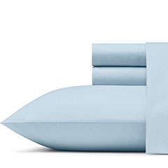 Poppy & Fritz Solid Zen Blue Sheet Set