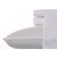 Snow Microfiber Sheet Set