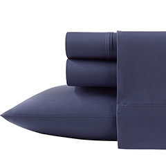Poppy & Fritz Solid Blue Sheet Set