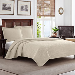 Tommy Bahama Solid Dune Quilt Set
