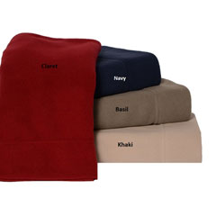Solid Fleece Sheet Sets