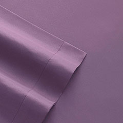 Patti Labelle Solid Microfiber Eggplant Sheet Set