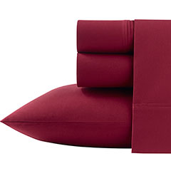 Poppy & Fritz Solid Red Sheet Set
