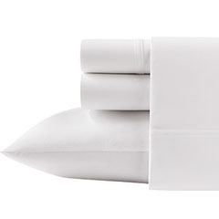 Poppy & Fritz Solid White Sheet Set