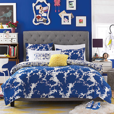 Teen Vogue Something Blue Comforter Set