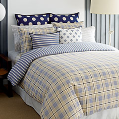 Spectator Plaid Comforter and Duvet Cover Sets