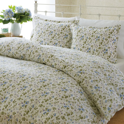 Laura Ashley Spring Bloom Flannel Duvet