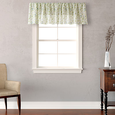 Laura Ashley Spring Bloom Designer Valance