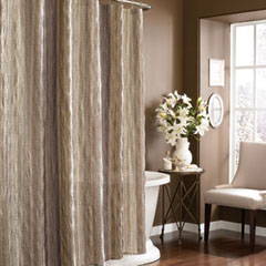 Sierra Khaki Shower Curtain